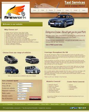 Taxi Services for X7 Full+Mobile (For Serif WebPlus X7)