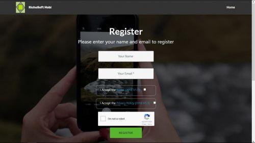 Mobirise 5 Star reCaptcha2 Registration System