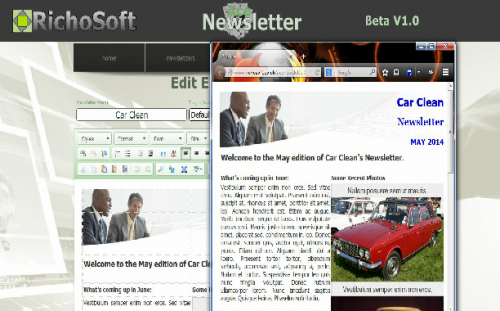Ace Newsletter PRO System XF (Files Only Version)