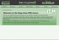 Blog/News Pro System for WebPlus X8