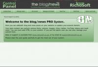 Blog/News Pro System for WebPlus X8