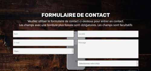 French 5 Star Contact Form 180411fr