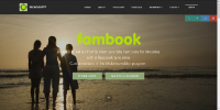 Mobirise fambook Membership System Template for v3.08 to 3.12.1 from RichoSoft Squared