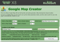Google Map Creator PLUS for WebPlus X6