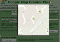 Google Map Creator PLUS JS Version for WebPlus X8