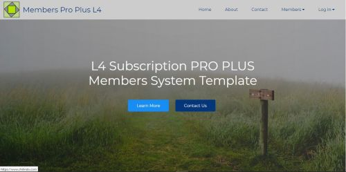 Mobirise PRO PLUS V4 L4 Subscription Membership System Template