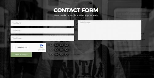 Mobirise Contact Form Extension with reCaptcha2
