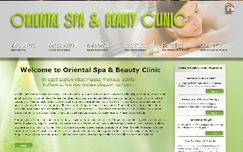 Oriental Spa for X8 (For Serif WebPlus X8)