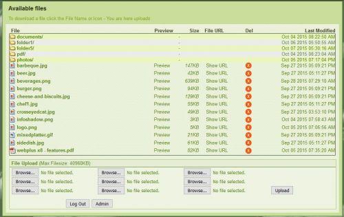 ReadyLister - X8 (For Serif WebPlus X8)