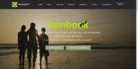 Mobirise 3 fambook PRO Membership System Template for v3.08 to 3.12.1 from RichoSoft Squared