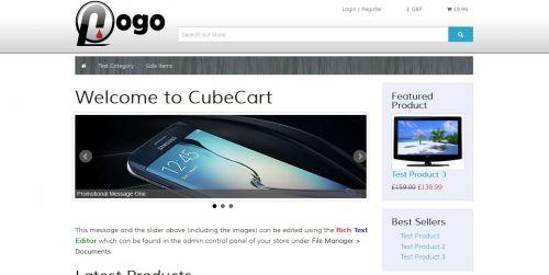 CubeCart Tapogo Skin for CubeCart 6