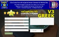 Mobirise GREEK 6 Star reCaptcha3 Contact Form Extension
