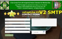 SMTP Mobirise 6 Star reCaptcha2 Contact Form Extension
