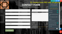 Mobirise XL PRO reCaptcha2 Contact Form Extension