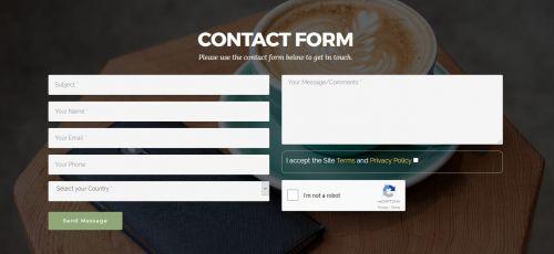 Mobirise XL reCaptcha2 Contact Form Extension
