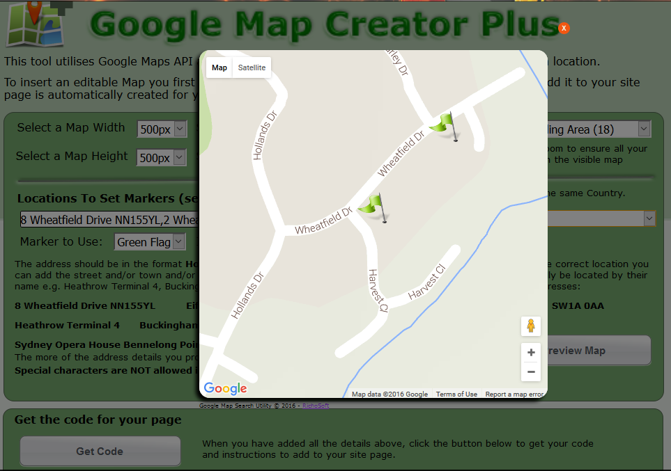 Map Creator.Google Map Creator Plus Js For Webplus X8 Richosoft Squared Superstore
